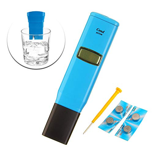 ExcLent Wattson Tds98303 1Us/Cm Resolution Conductivity Test Pen Conductivity Ph Meter Water Detecting Instrument