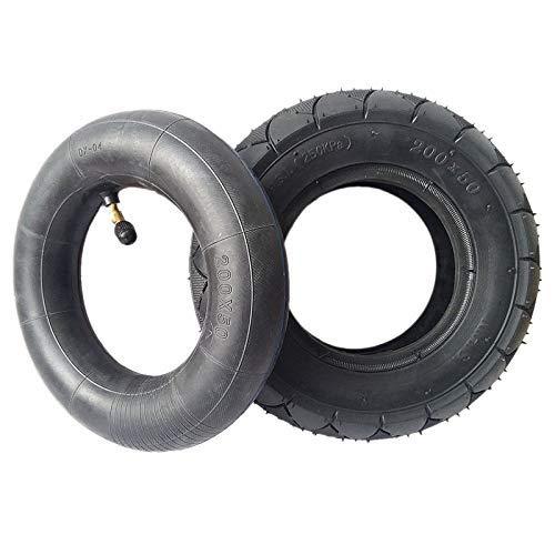 HTZ-M Neumático y Tubo Interior para Scooter eléctrico, neumático Inflable 200X50 para E100, E150, E200, Power Core E100, Buggy,