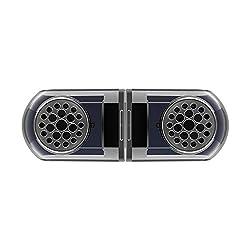 ♦ Son surround 3D: haut-parleurs sans fil avancés, vous pouvez vous attendre à un son surround 3D paradisiaque avec deux haut-parleurs connectés via Bluetooth. Commencez à construire votre système de cinéma maison dès maintenant! ♦ Micro intégré, min...