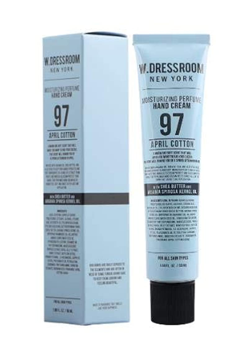 [Renewal] W.DRESSROOM Perfume Hand Cream (NO.97 APRIL COTTON) /パフューム ハンドクリーム [並行輸入品]