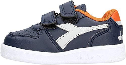 Diadora Playground TD 101173302 Sneaker da Bambino (20 EU, 60065 Blue Denim)