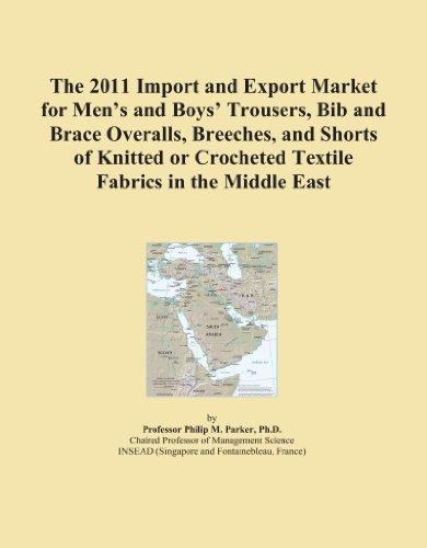 El Importación y mercado de exportación para pantalones de hombre y los niños 'de 2011, babero y Brace monos, Breeches, pantalones cortos y de punto o de...