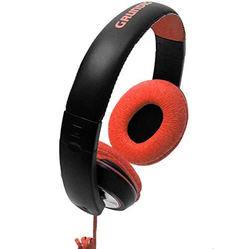 On-ear stereohoofdtelefoon, 20Hz-22.000Hz, verstelbare hoofdband, stereohoofdtelefoon rood voor MP3 CD iPOD-spelers