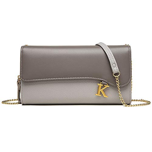 VEVESMUNDO Bolso para mujer de piel sintética, elegante y pequeño, cruzado, bolso de hombro, cartera, monedero, para colgar
