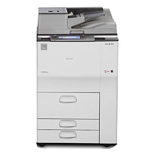 Ricoh Aficio MP 7502 High-Speed Tabloid-Size Black and White Laser Multifunction Copier - 75ppm, Copy, Print, Scan, E-Mail, Network, 2 Trays, Tandem Tray