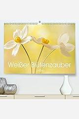 Adam, U: Weisser Bluetenzauber(Premium, hochwertiger DIN A2 Wa カレンダー
