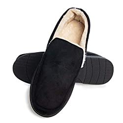 small Gold toe men's slippers Men's memory foam indoor slippers Indoor / outdoor non-slip warm slippers Men's