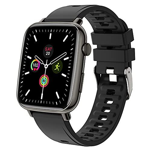 UHOOFIT SmartWatch,Orologio Fitness Tracker Uomo Donna 1,69''Touch Schermo,Smart Watch Sonno Cardiofrequenzimetro, Sportivo Activity Tracker Contapassi Cronometro,Smartband per Android Iphone