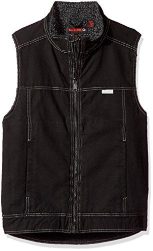 Wolverine Men's Porter Sherpa Lined Vest, Black, X-Large