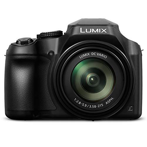 PANASONIC LUMIX FZ80 4K 60X Zoom Camera, 18.1 Megapixels, DC VARIO 20-1200mm Lens, F2.8-5.9, 4K 30p Video, Power O.I.S., WiFi ? DC-FZ80K (USA BLACK) (Renewed)