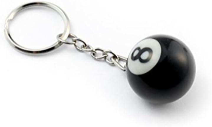 Billiards 8 Ball Keychain Key chain