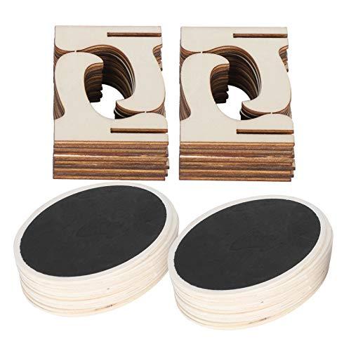Colocar tarjetas Pizarra Mini Pizarrón Letreros Letreros de pizarra con soporte Base Pizarra de exhibición artesanal para mesa Pizarra para fiestas de cumpleaños