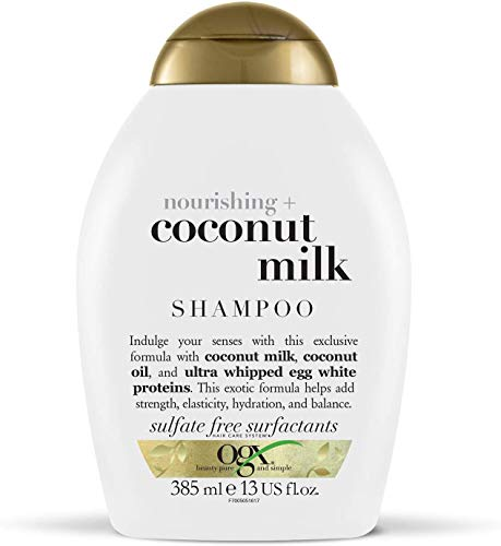 OGX Nourishing Coconut Milk Shampoo, 1er Pack (1 x 385 ml)