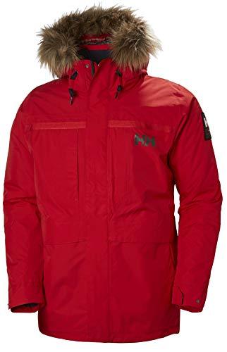 Helly Hansen COASTAL 2 PARKA – Winddichte, wasserfeste und atmungsaktive Jacke mit verstellbarer Kapuze – Winterparka für Herren