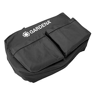 Bolsa de almacenaje GARDENA: bolsa para robot cortacésped, para un almacenamiento seguro y seco, para todos los robots cortacésped GARDENA incl. estación de carga, bolsillos para accesorios (4057-20)