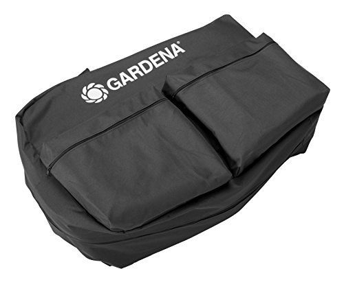 Gardena Aufbewahrungstasche: Mähroboter-Tasche für sichere und trockene Aufbewahrung für den Winter, für alle Gardena Mähroboter inkl. Ladestation, extra Taschen für Zubehör (4057-20)