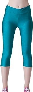 Jixin4you Women 3/4 Length High Waist Leggings Tights Sport Pants LA21