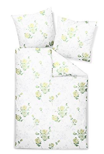 Janine Design Edelflanell Bettwäsche Chinchilla S 76013-03 1 Bettbezug 135 x 200 cm + 1 Kissenbezug 80 x 80 cm
