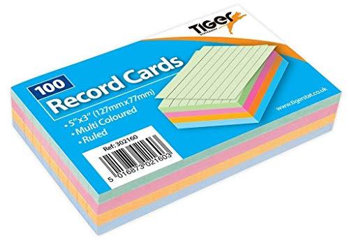 2 x 1 x 100 arkuszy kart pamięci flash kolorowe badanie wersja kolorowy 12 x 7 cm