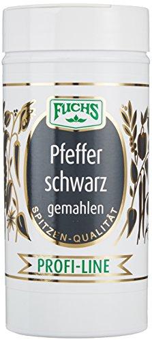 Fuchs Pfeffer schwarz gemahlen, 1er Pack (1 x 175 g)
