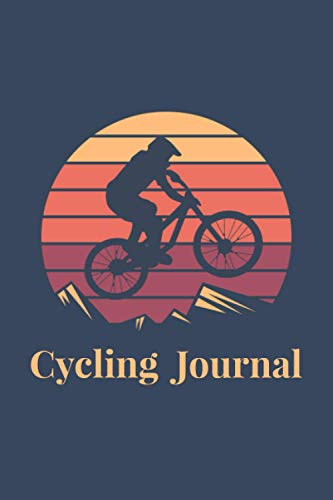 Cycling Journal: Training Notebook for Cycling Lover, Log Book for Gift