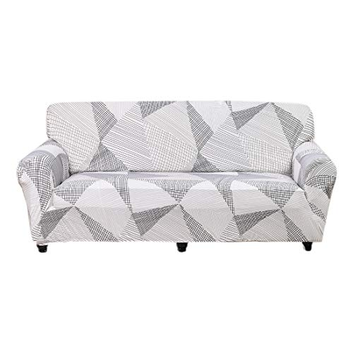 FORCHEER Slipcovers for Couches Stretch White Sofa Cover 3-Seater Leather Furniture Protector from Pet for Home Living Room