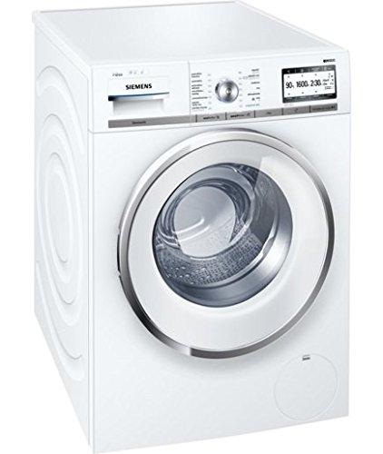 Siemens WM6YH890ES lavatrice Libera installazione Caricamento frontale Bianco 9 kg 1600 Giri/min A+++