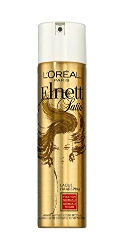 L'Oréal Paris Elnett Satin Laque Coiffante Fixation Normale 75 ml Format Sac