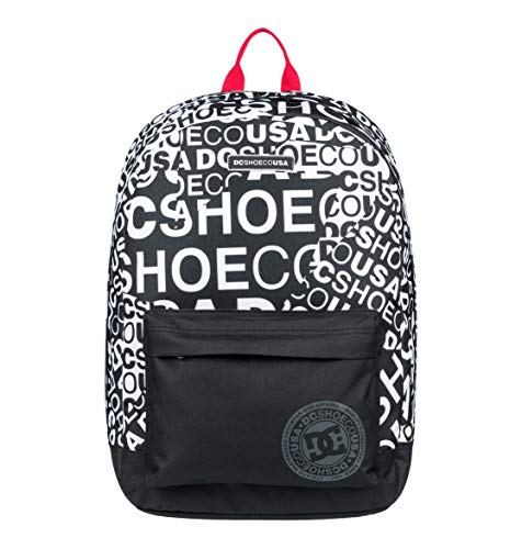 DC Shoes Backstack Print Backpack, Hombre, Snow White, 1 Size