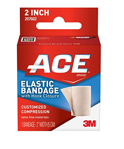Ace 207602 elastic bandage with hook closure 1 convenient hook-and-loop closure enables bandage to be wrapped easily and secured without clips ace is america's most trusted brand of braces, supports and elastic bandages (based on 2015 tns brand health tracking of braces, supports and elastic bandages). Supported by our expert panel of engineers and medical professionals.