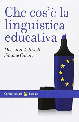 Che cos'è la linguistica educativa