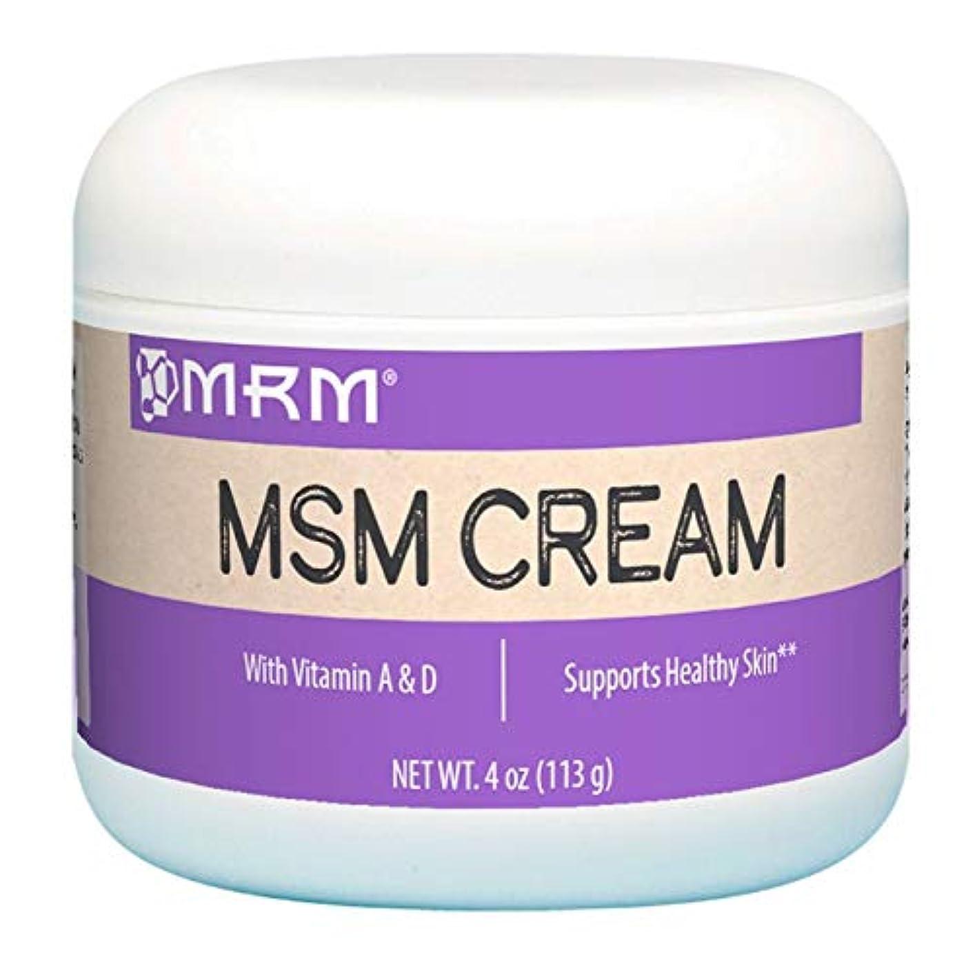 MRM MSM クリーム 4 oz 113 g 【アメリカ直送】