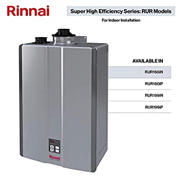 Rinnai RUR160iN Sensei SE 160,000 BTU Tankless Hot Water Heater