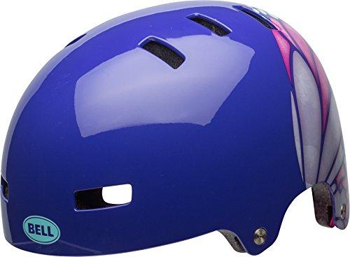 BELL Kinder Span Fahrradhelm, Purple/Pink/Iceberg Glide, S