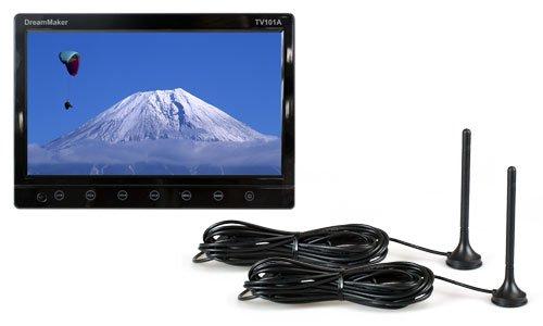 [DreamMaker]10.1インチフルセグカーテレビ「TV101A」