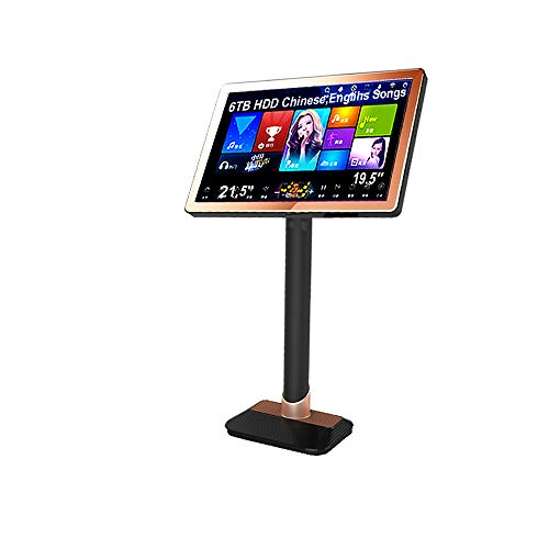 Best Review Of HAJURIZ 21.5'' Touch Screen Karaoke Player,6TB HDD,130K Songs,Chinese,English,Android...