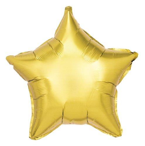 Betallic F10008S - Folienballon 19 Zoll - Stern, Gold