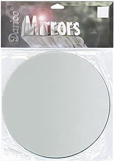 Darice Round Glass Mirror, 6