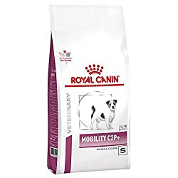 Royal Canin Mobility C2P+ is formulated with an innovative C2P+ joint complex. The food contains a moderate calorie content to help maintain your dog's ideal body weight and support joints under stress from excess weight. This diet contains a synergi...