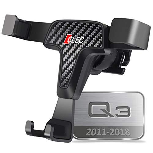 AYADA Porta Cellulare Compatibile con Audi Q3 8U, Supporto Cellulare Smartphone Holder gravità Auto Lock Stabile Facile da Installare SUV 2011 2012 2013 2014 2015 2016 2017 2018 Accessori