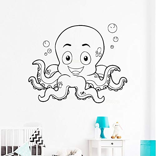 yaonuli Leuke wandsticker voor babykamer, marineblauw, vinyl, wandlamp, badkamer, waterdicht, dier-wandlamp, kleuterschool