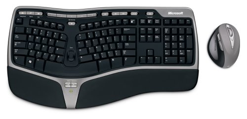 6. Microsoft Natural Ergonomic Desktop 7000