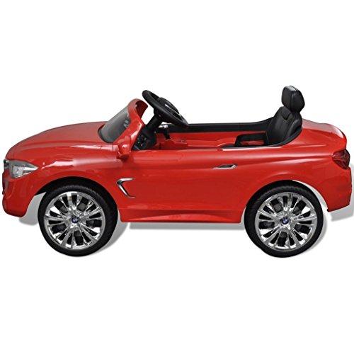 RC Auto kaufen Kinderauto Bild 5: vidaXL Kinderauto mit Fernbedienung Weiß Kinderfahrzeug Elektroauto Cabriolet*