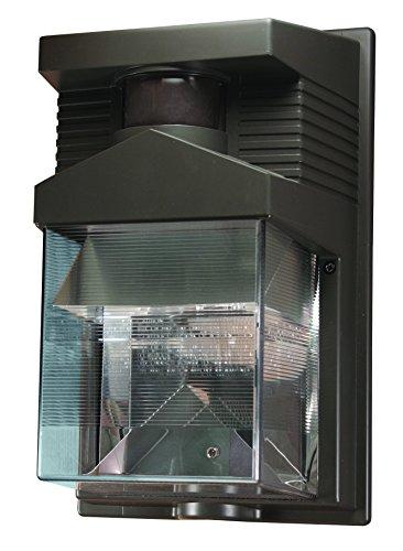 Heath Zenith HZ-5630-BZ Dual Brite Security Light, 120 Vac, Halogen, Double Ended, 100 W