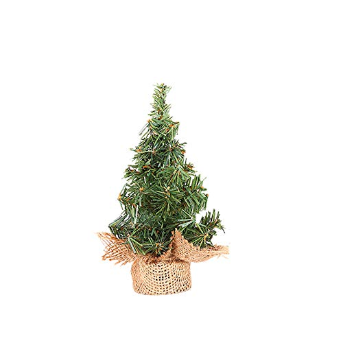 Christmas Tree Xmas Decor Party Santa Home 20cm Decoration Ornaments, for Halloween Home Decoration (Green)