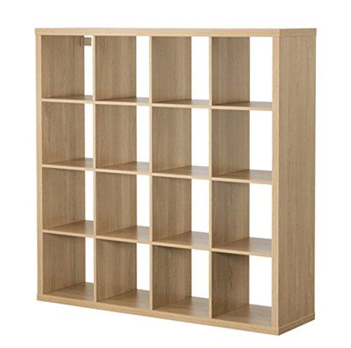 Ikea Regal Kallax 16quadratisch Eiche