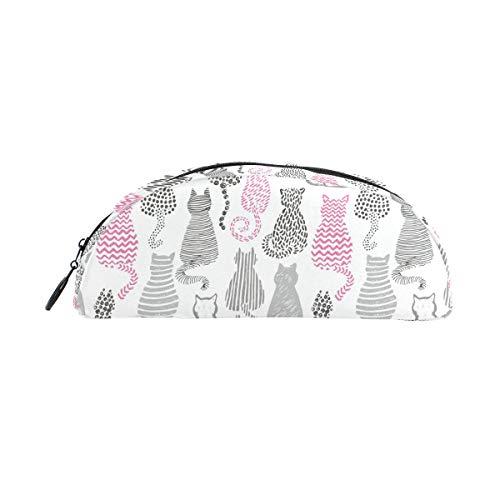 Niedliche lustige Katzen-Federmäppchen mit Reißverschluss, kleine Make-up-Tasche für Kinder, Jungen, Mädchen, Schule