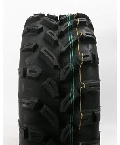 Vision Wheel Trailfinder Radial Multi-Terrain Tire - 26x12R-14 / Ply 6 , Position: Front/Rear, Rim Size: 14, Tire Application: Mud/Snow, Tire Size: 26x12x14, Tire Type: ATV/UTV, Tire Construction: Radial 1805261214