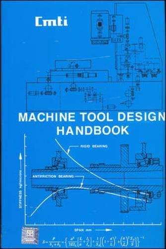 Machine Tool Design Handbook , 1Ed