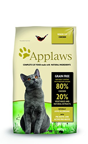 Applaws Katze Trockenfutter Senior Chicken, 1er Pack (1 x 7,5 kg)